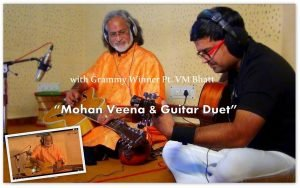 Indian guitarists kapil srivastava & grammy winner vishwa mohan bhatt
